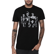 Teen Titans Monotone Group T-Shirt