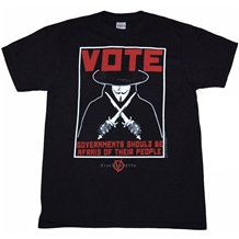 V for Vendetta Vote T-Shirt