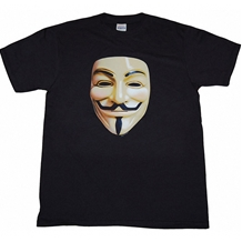 Vendetta Photo Mask T-Shirt