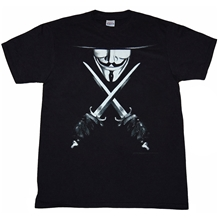 V for Vendetta Knives T-Shirt