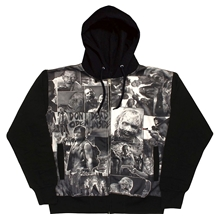 Walking Dead Classic Images Sublimation Hoodie