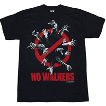 Walking Dead No Walkers T-Shirt