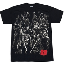 Walking Dead Walkers Attack T-Shirt