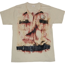The Walking Dead Rick Grimes Costume T-Shirt