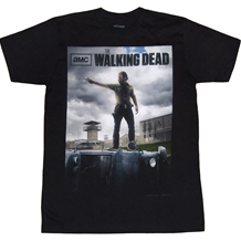 Walking Dead Rick Poster T-Shirt