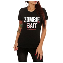 Walking Dead Zombie Bait Ladies Junior T-Shirt
