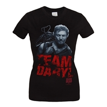 Walking Dead Team Daryl Junior Ladies T-Shirt