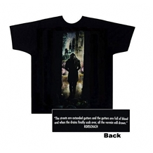 Watchmen Rorschach Movie Poster Adult T-Shirt