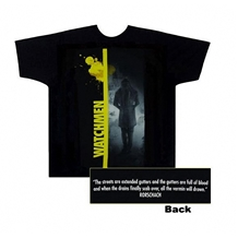 Watchmen Rorschach With Strip Adult T-Shirt