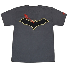 DC Watchmen Crossover Batman Symbol T-Shirt