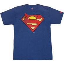 DC Watchmen Crossover Superman Symbol T-Shirt