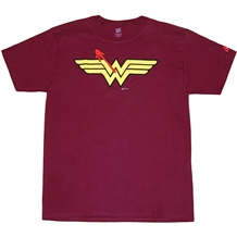 DC Watchmen Crossover Wonder Woman Symbol T-Shirt