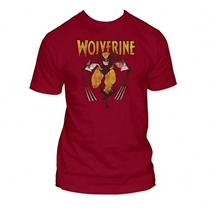 Wolverine Seeing Red Adult T-Shirt