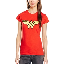 Wonder Woman Logo Junior Ladies T-Shirt