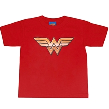 Wonder Woman Golden Logo Kids T-Shirt