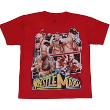 WWE Wrestlemania Juvenile T-Shirt