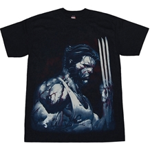 X-Men Wolverine Blood and Steel Adult T- Shirt