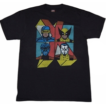 X-Men Fearsome Four T-Shirt