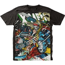 Marvel X-Men Wolverine VS Omega T-shirt