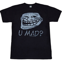 U Mad? Troll Face T-Shirt