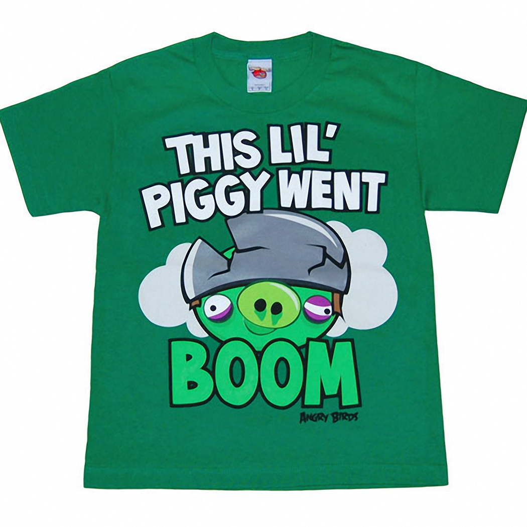 Angry Birds This Lil Piggy Kids T-Shirt