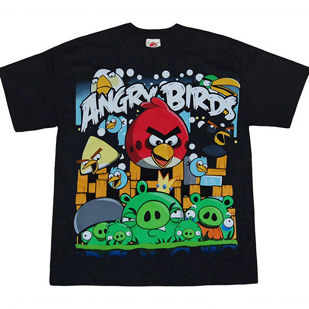 Angry Birds Angriest Attack Kids T-Shirt