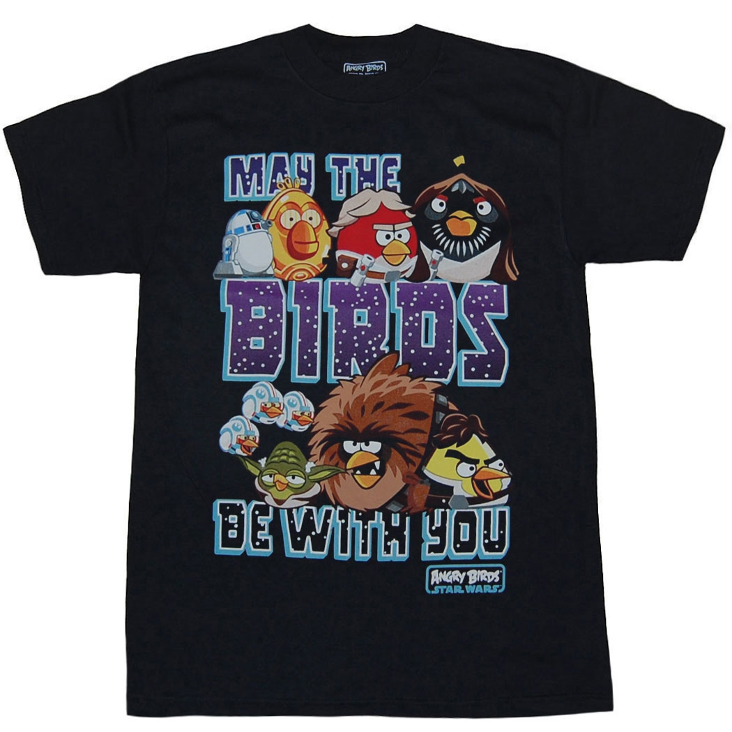 Angry Birds: Star Wars May The Birds Youth T-Shirt