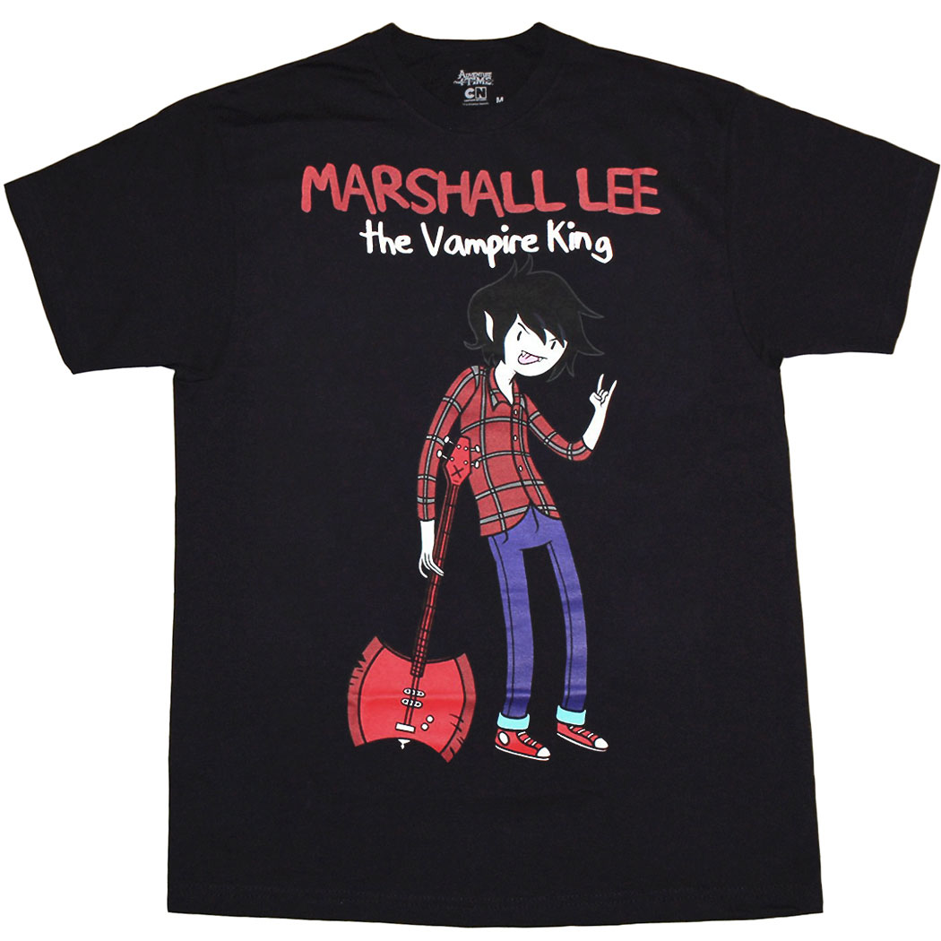 Adventure Time Marshall Lee Vampire King T-Shirt