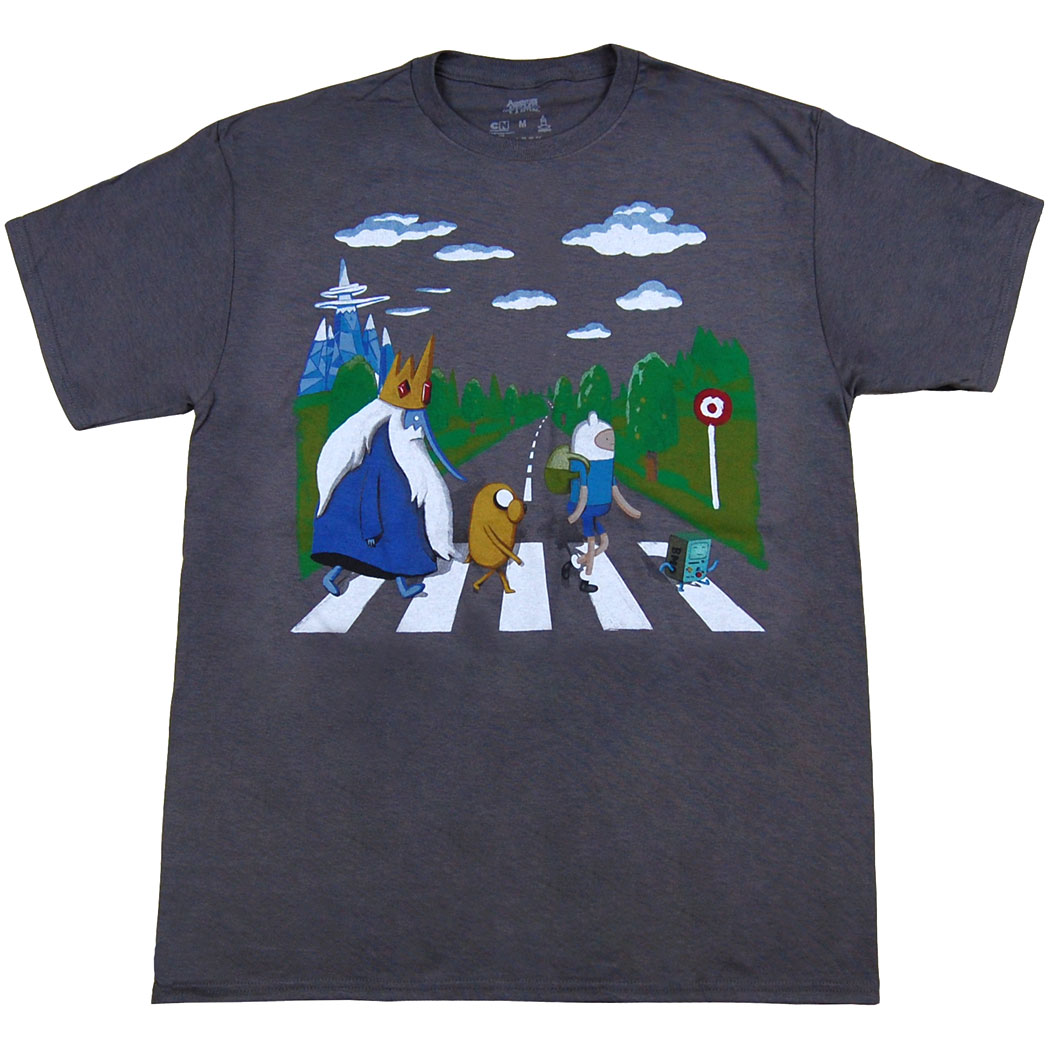 Adventure Time Land of Ooo Abbey Road T-Shirt