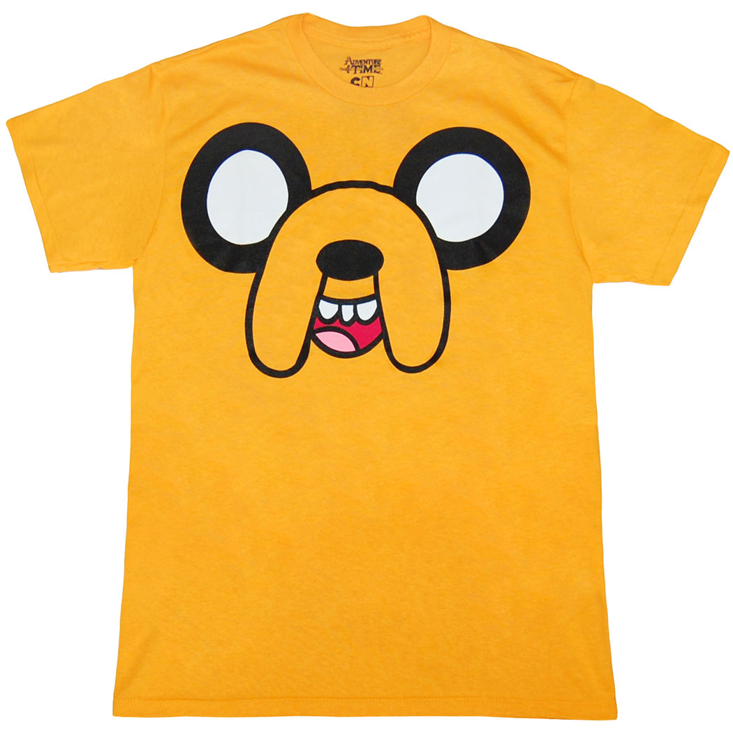 Adventure Time Jake Face T-Shirt