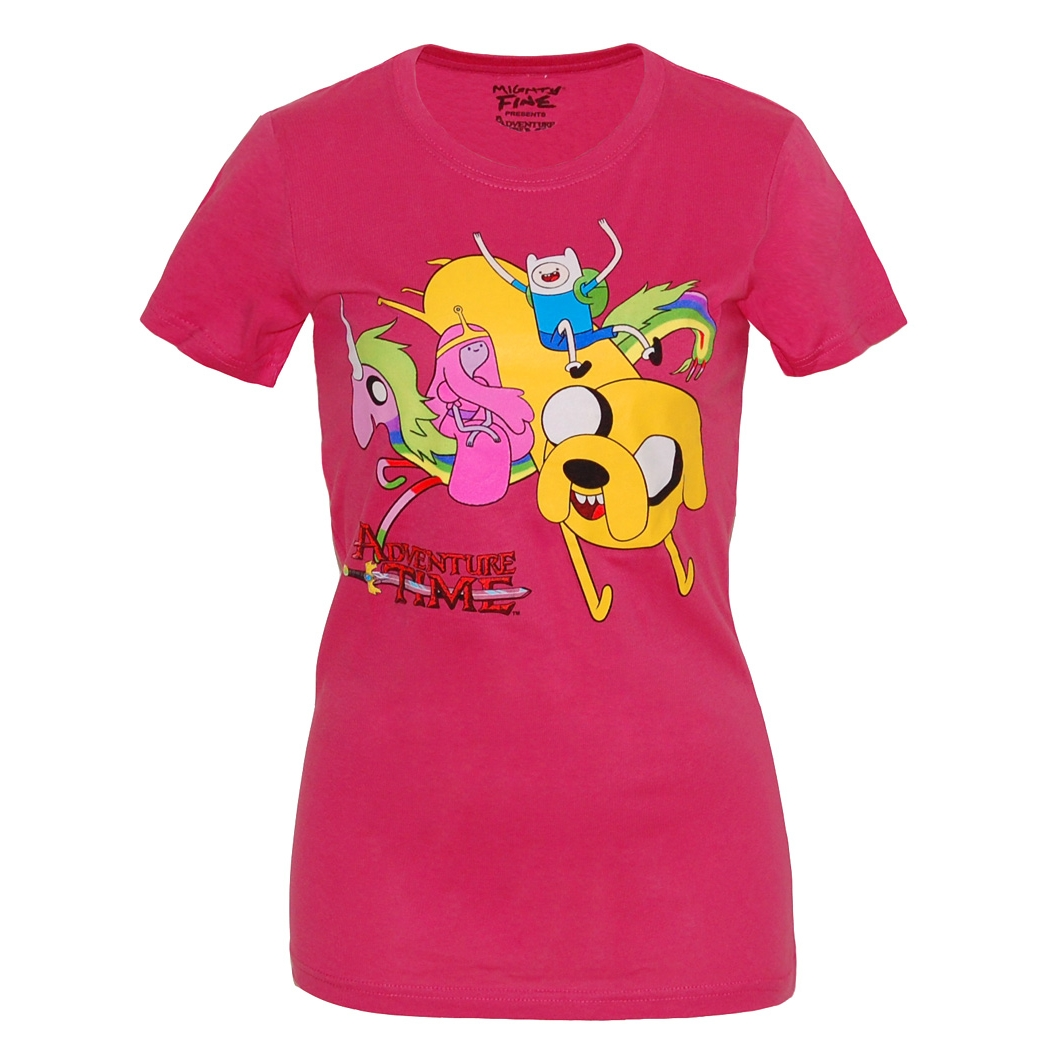 Adventure Time Buddy Back Junior Ladies T-Shirt