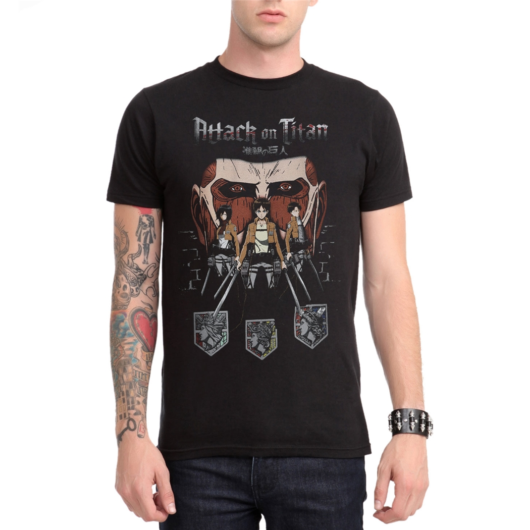 Attack on Titan Titan in Shadows T-Shirt