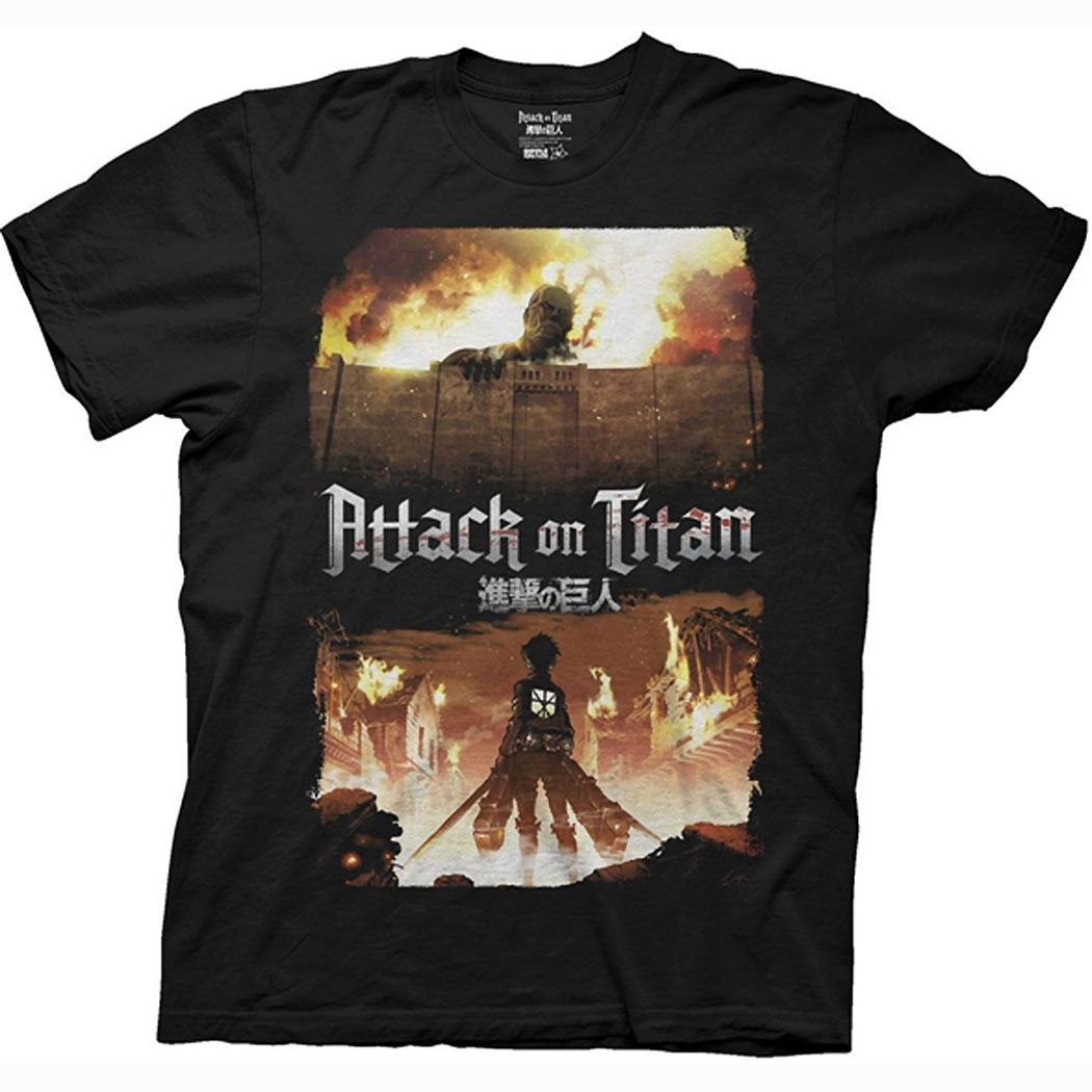 Attack on Titan Keyart T-Shirt