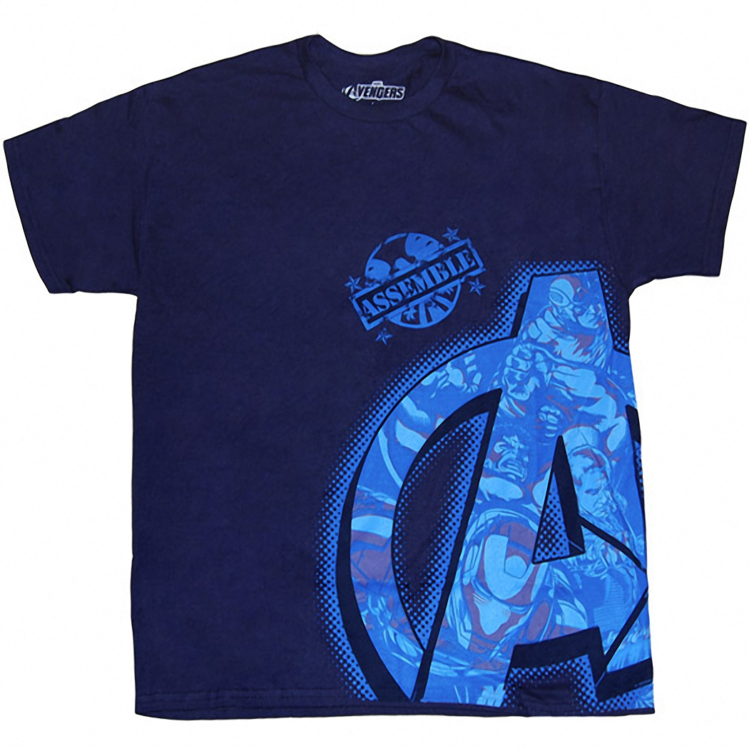 Avengers Top Secert T-Shirt