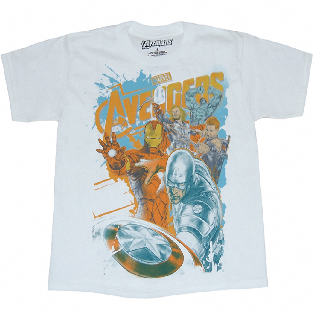 Avengers Concept Jumbo Youth T-Shirt