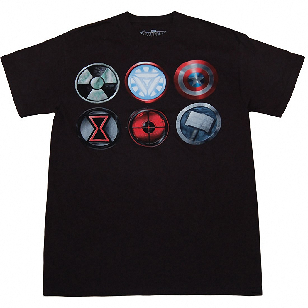 Avengers Straight Six T-Shirt