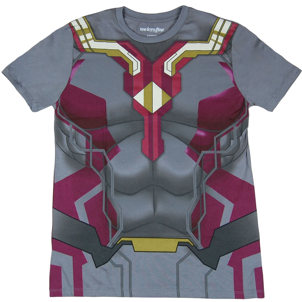 Age of Ultron Vision Costume T-Shirt