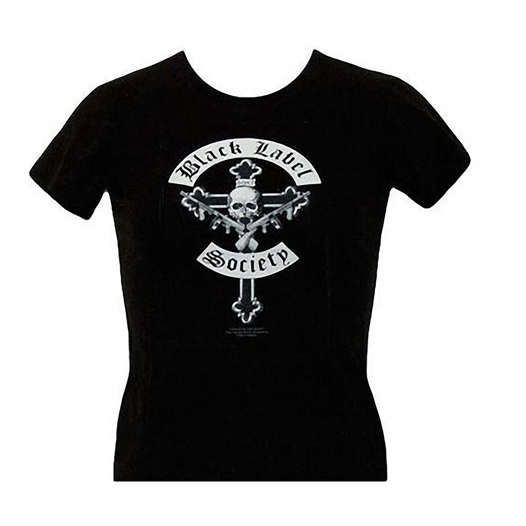 Black Label Society Cross and Skull Junior Tee