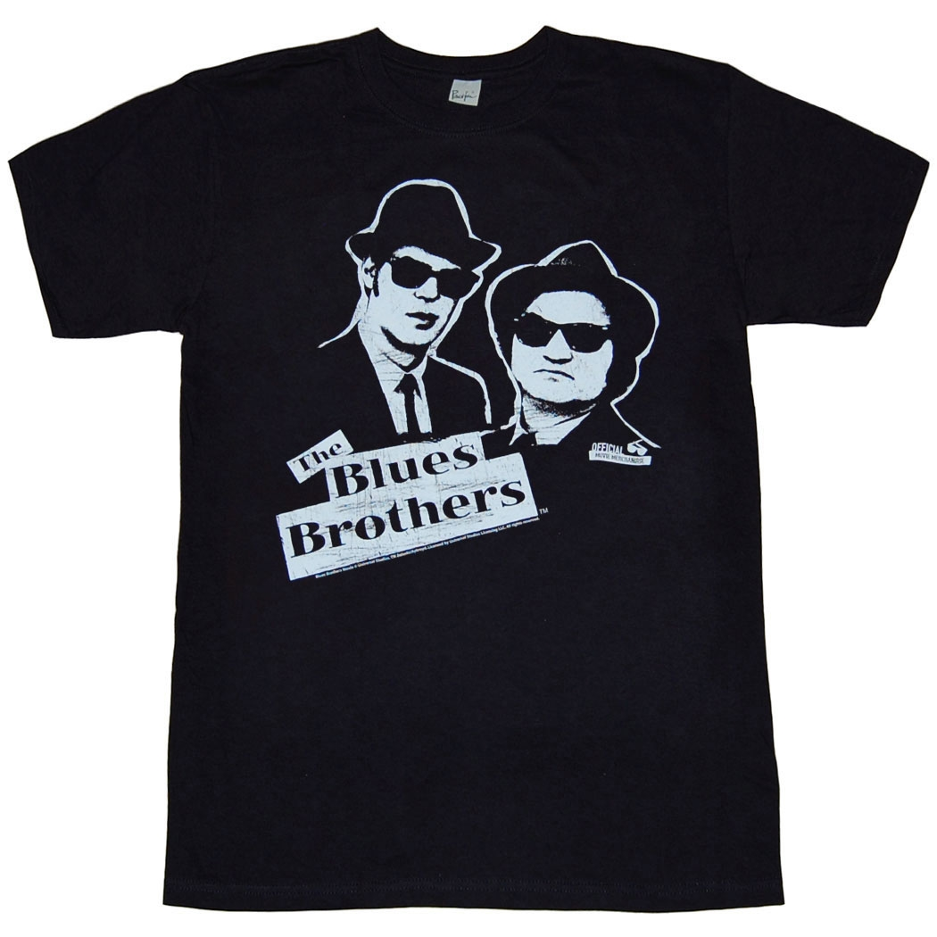 Blues Brothers Black and White T-Shirt