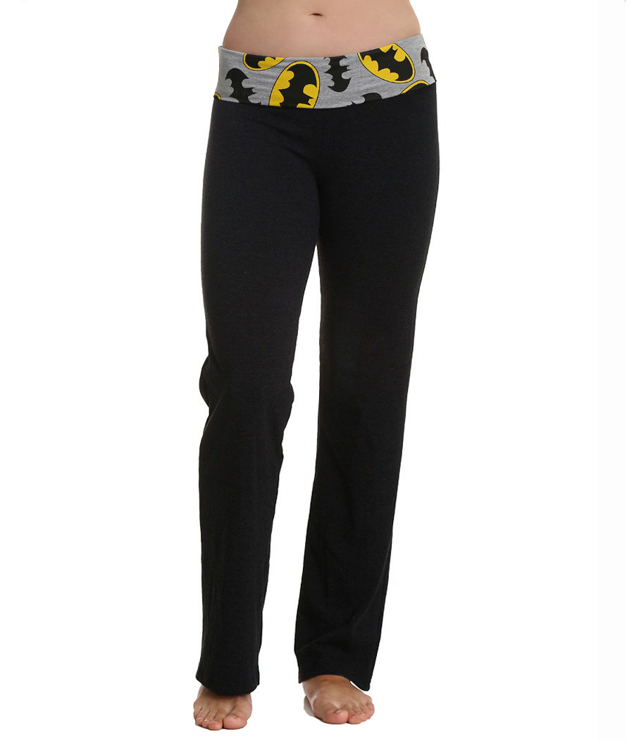 Batman Logo Yoga Pants
