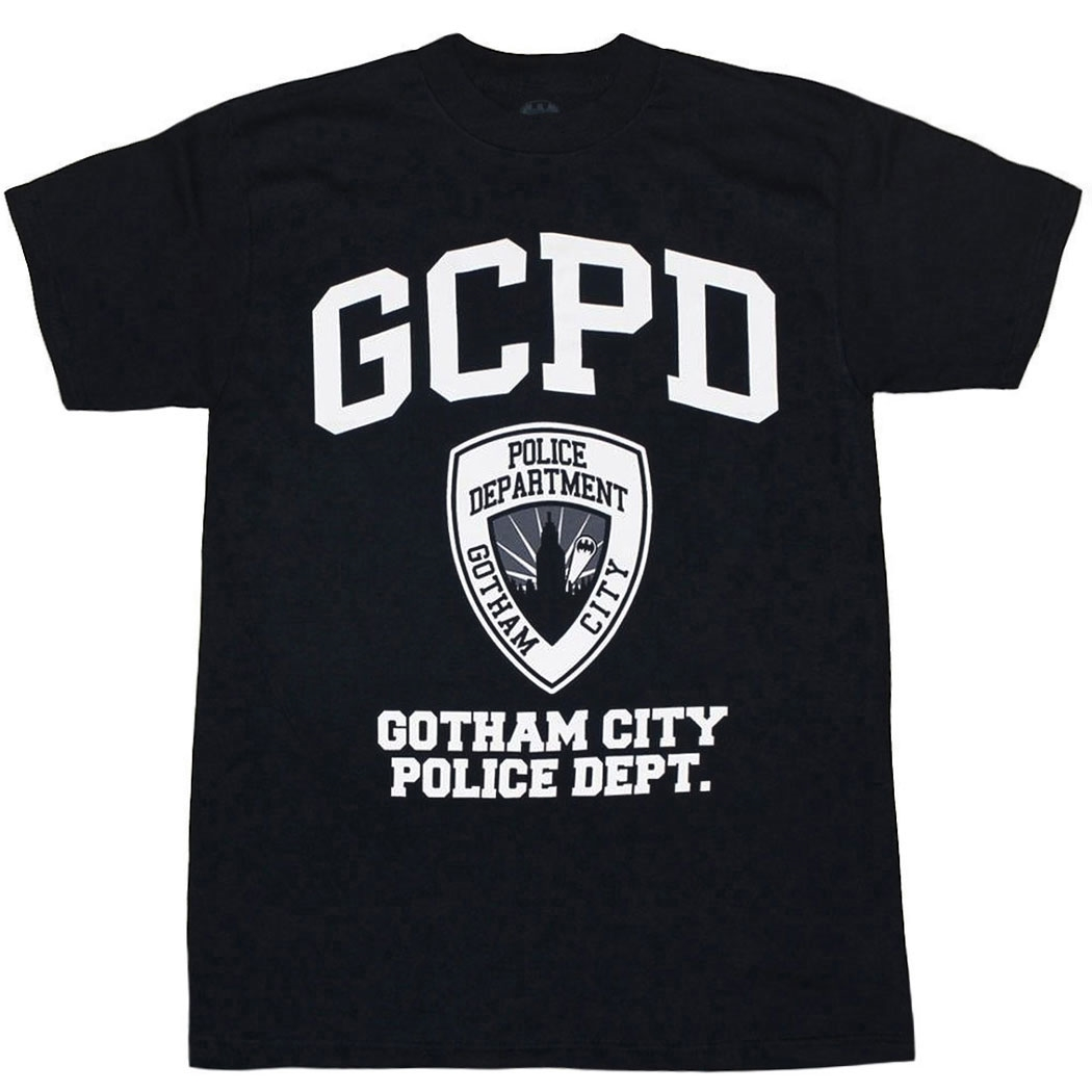 GCPD: Gotham City Police Department T-Shirt