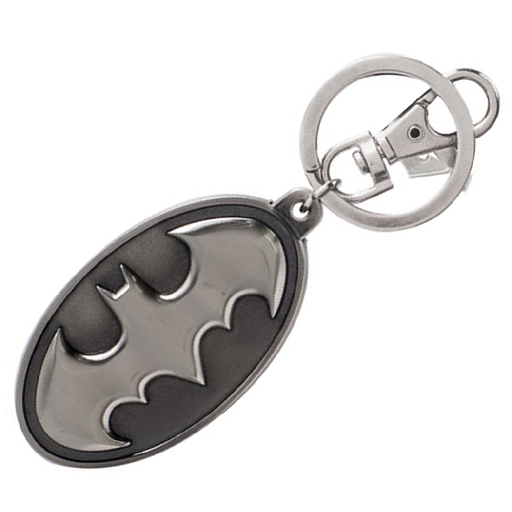 Batmam Logo Pewter Key Chain