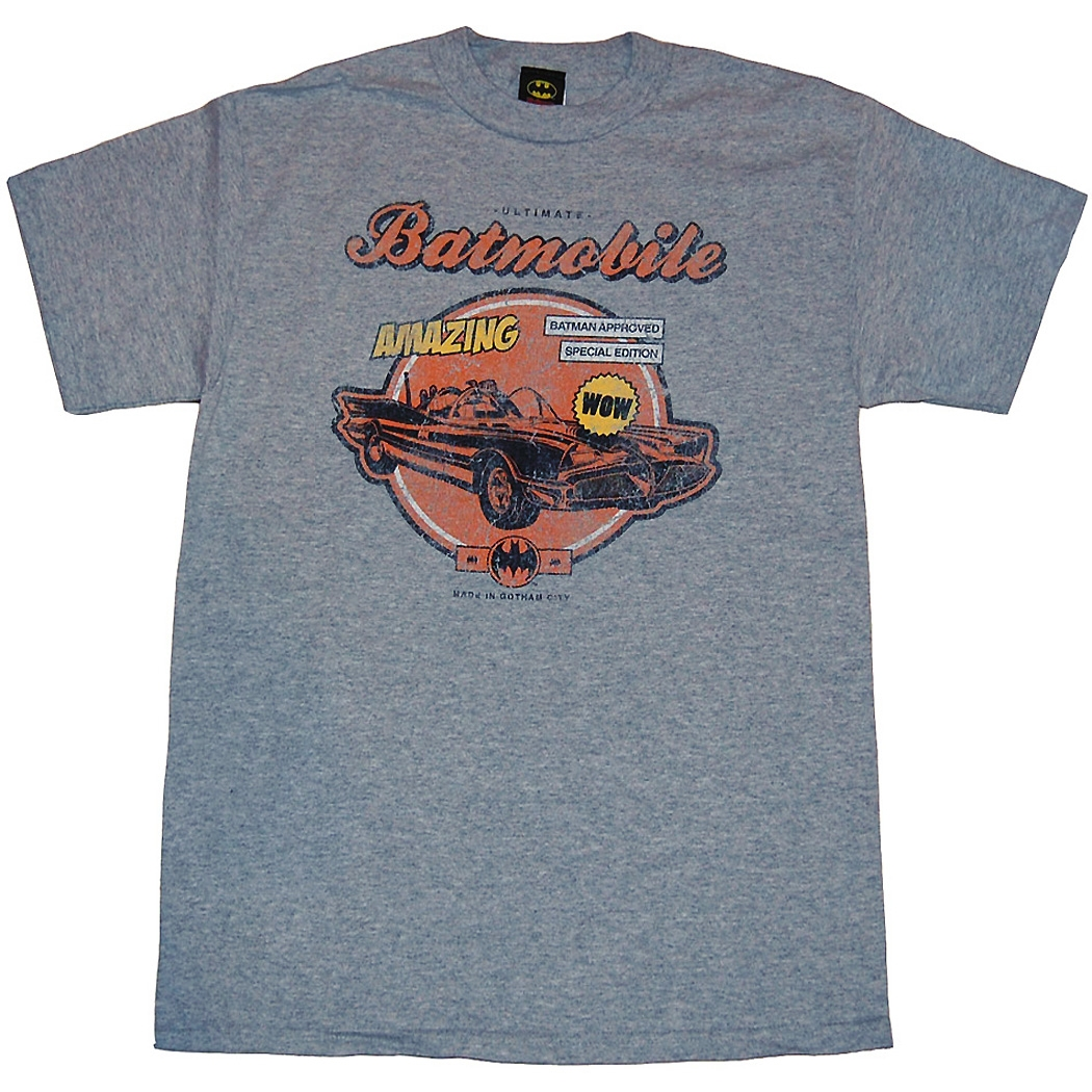 Batman Amazing Batmobile T-Shirt