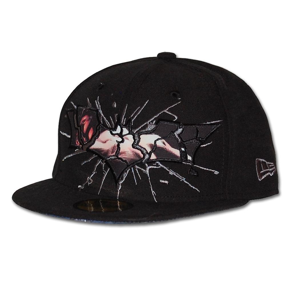 8673b801bc402 New Era Caps - New Era TDKR Shatter Bain 59Fifty Hat by Animation Shops