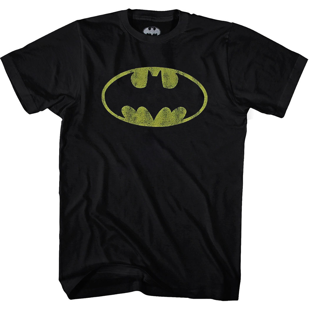 Batman Symbol Distressed T-Shirt