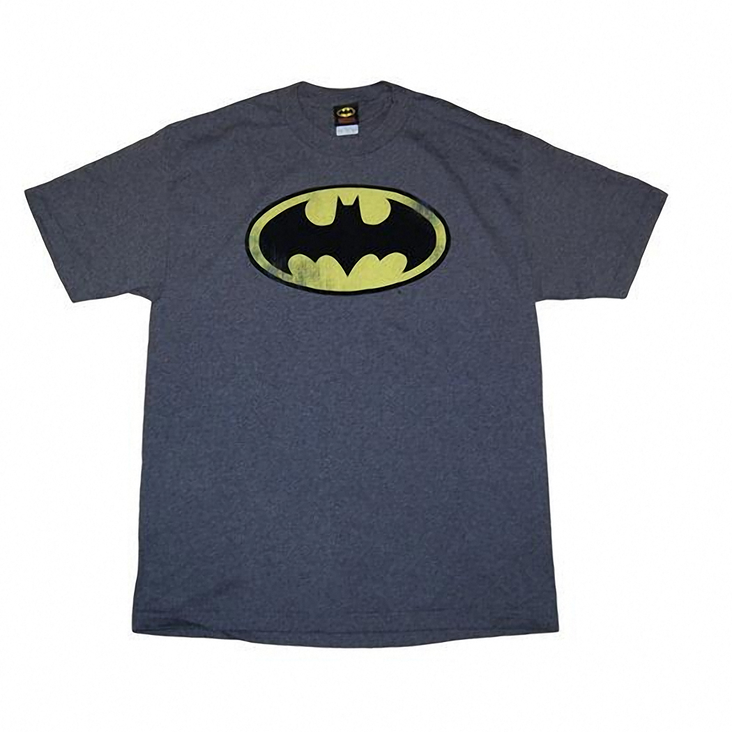 Batman Basic Distressed Logo T-Shirt