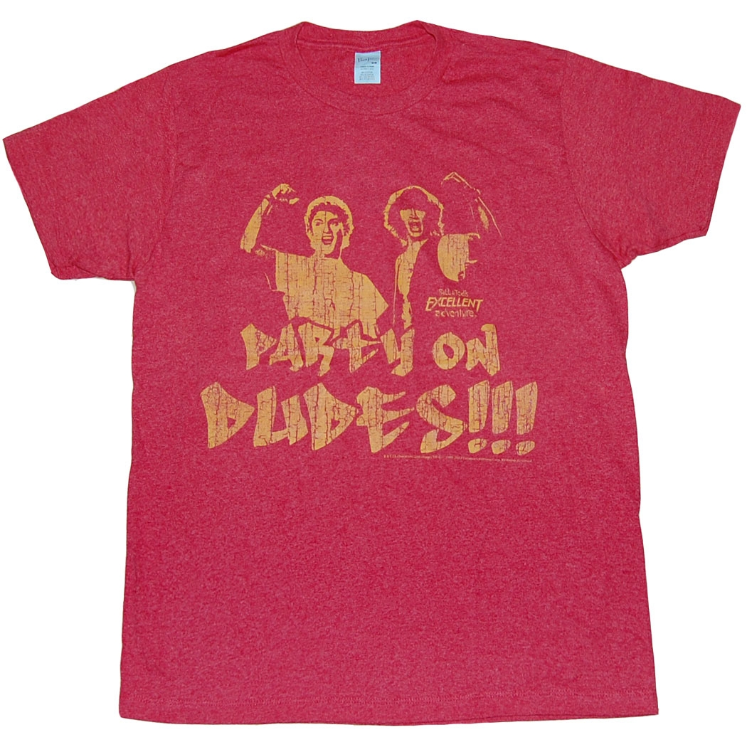 Bill and Ted Party On Dudes T-Shirt