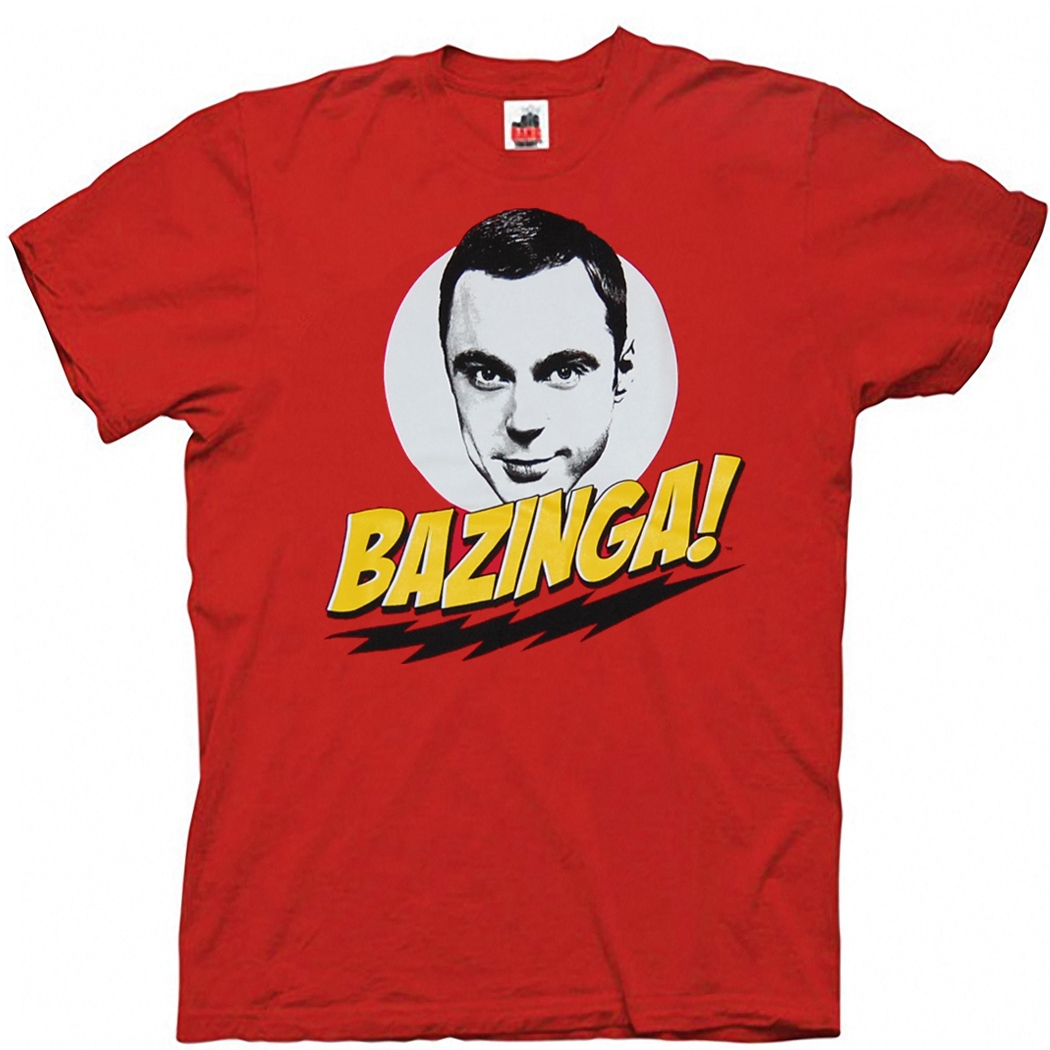 Big Bang Theory Sheldon Bazinga T-Shirt