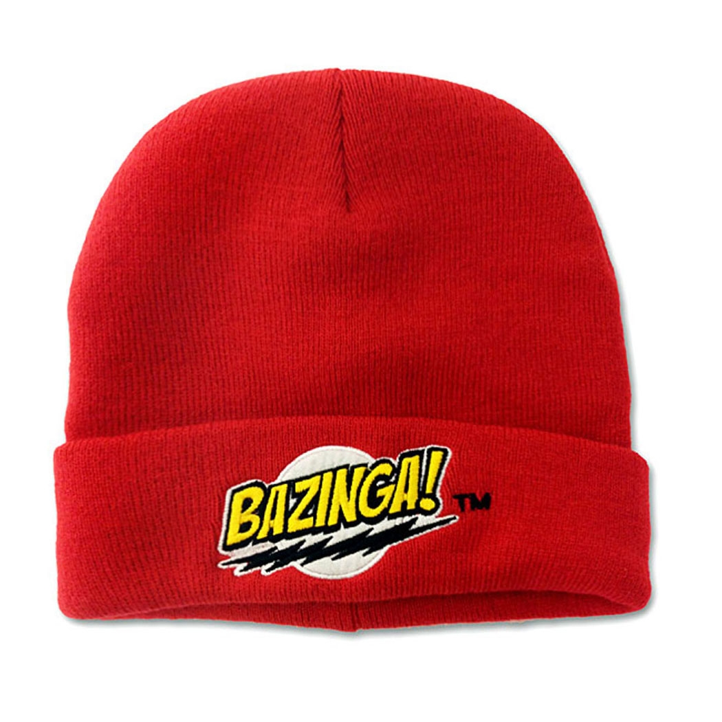 Big Bang Theory Bazinga Knit Beanie