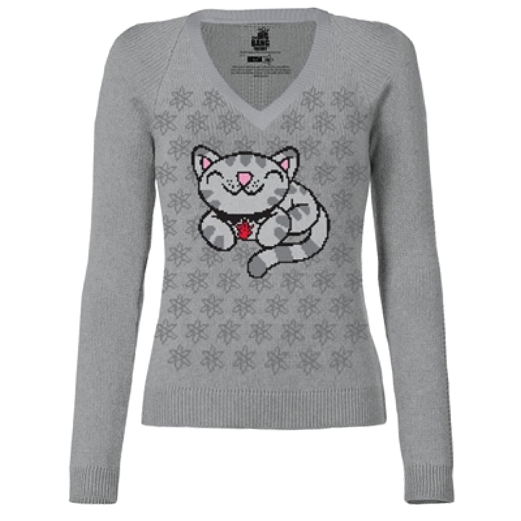 Big Bang Theory Soft Kitty Junior Ladies Sweater